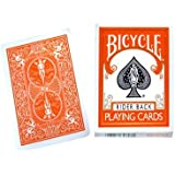 Jeu Bicycle à dos Orange (US Playing Card Company)