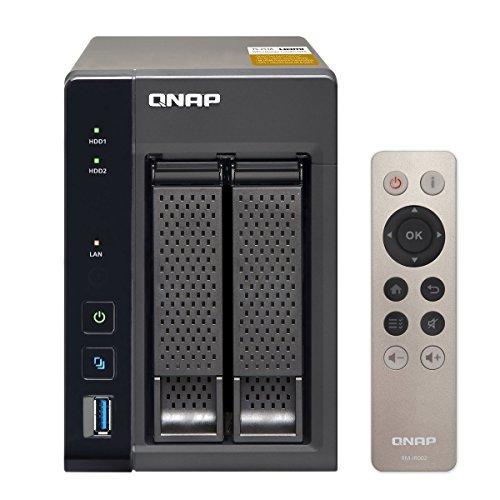 Qnap 2-Bay, 8TB(2x 4TB NAS Drive) Intel Braswell Quad-Core 1.6GHz CPU (TS-253A-8G-24R-US) by QNAP (Image #1)