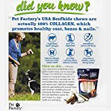 PET FACTORY USA Value-Pack Beefhide 8-Inch