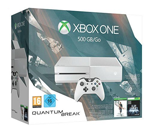 Xbox One 500GB Konsole - Bundle inkl. Quantum Break und Alan Wake Special Edition (weiß)