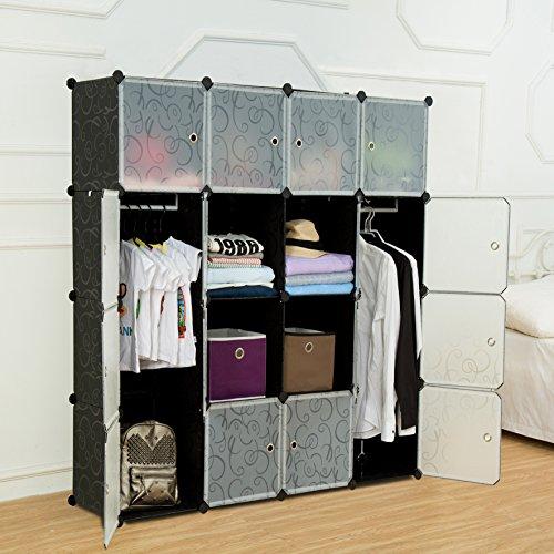 Do It Yourself Home Design: Multi Use DIY Plastic 16 Cube Organizer, Bookcase
