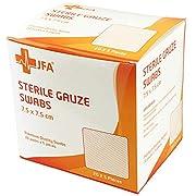 Premium Sterile Gauze Swabs 7.5cm x 7.5cm – Pack of 100
