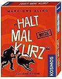 KOSMOS 740382 - Halt mal kurz, Kartenspiel von Marc-Uwe Kling