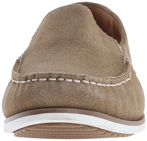 Hush Puppies Uomo Bob Portland Slip-on Mocassino Taupe Scamosciato
