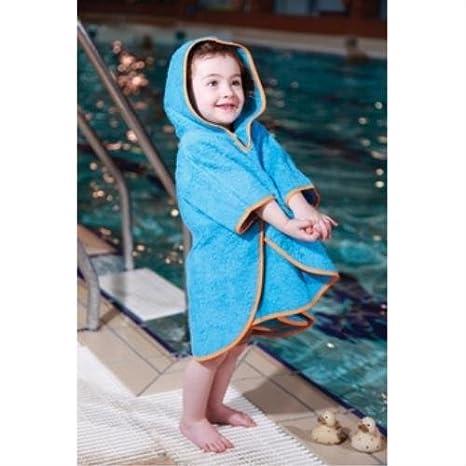 Cuddledry - Albornoz Poncho piscina recién nacido, color: Turquesa ...
