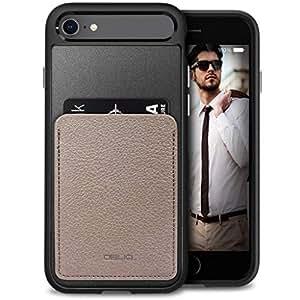 IPhone 8 / IPhone 7 Obliq Flex Wallet Case Cover - Mud Grey