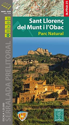 Descargar Libro Sant Llorenç Del Munt I L'obac, Mapa Excursionista. Escala 1:25.000. Alpina Editorial. Vv.aa.