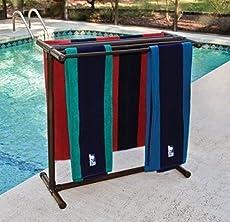 Pool Towel Rack Ideas bronze 8 bar tranquility towel rack by minttoast on etsy love love love Diy Towel Rack Using Pvc Pipes