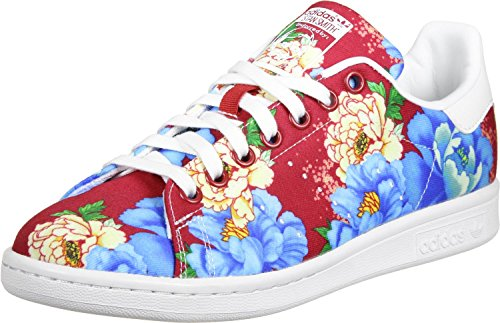 white ftwr red power Mujer Smith adidas Stan Zapatillas para wz88Oq