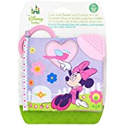 Disney Baby Minnie Mouse On the Go Soft Teether Book, 5