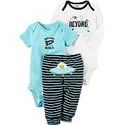 Carter's Baby Boys' 3 Piece Beyond Cute Set 3 Months