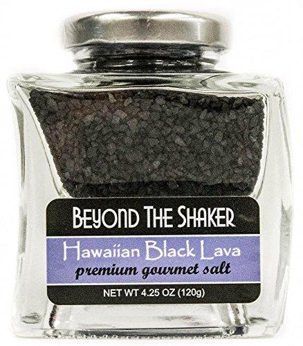 Hawaiian Black Lava Salt