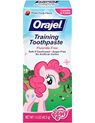 Orajel My Little Pony Fluoride-Fee Training Toothpaste, 1.5 Oz