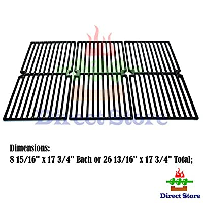 Direct store Parts DC110 Porcelain Cast Iron Cooking grid Replacement Brinkmann, Charmglow Gas Grill