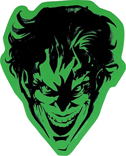 The Joker - Headshot on Green - Sticker / Decal