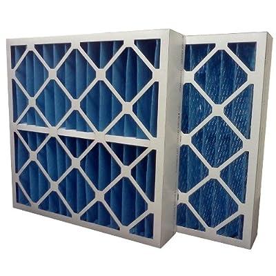 "US Home Filter SC40-20X25X4 20x25x4 Merv 8 Pleated Air Filter (3-Pack), 20"" x 25"" x 4"""