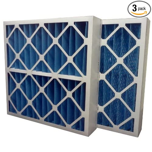 Pack of 3 16 x 20 x 4 16 x 20 x 4 Midwest Supply Inc US Home Filter SC40-16X20X4 MERV 8 Pleated Air Filter