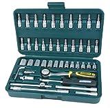 Brüder Mannesmann Mannesmann 1/4-inch Socket Set Super Lock System (41 Pieces) by
