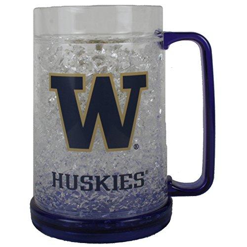 Duck House NCAA Washington Huskies 16oz Crystal Freezer Mug ()