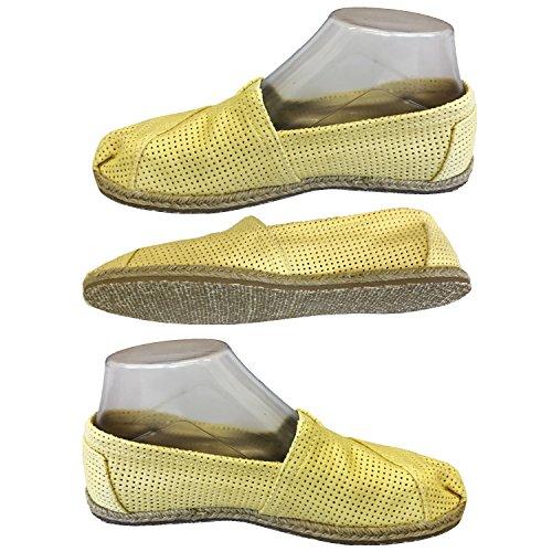 RF5ltd - Mocasines de Tela para mujer amarillo