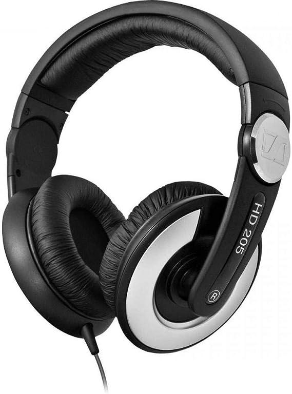Sennheiser HD 205 II - Auriculares de diadema cerrados, negro ...