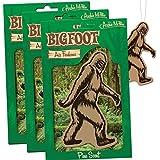 Bigfoot Air Freshener - Pine Scent (3)