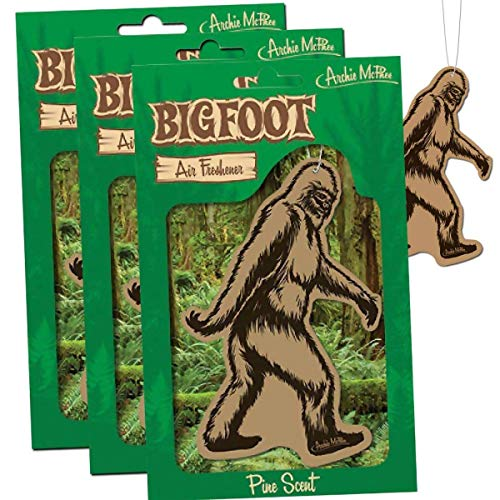 Bigfoot Air Freshener - Pine Scent (3)
