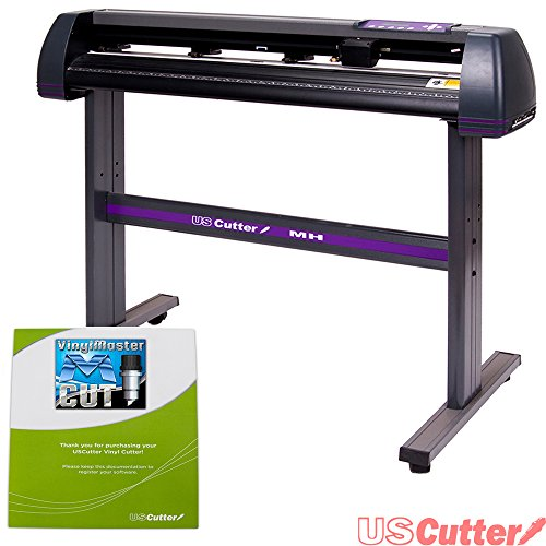 USCutter 53 inch MH Vinyl Cutter Plotter w/Stand and VinylMaster (Design and Cut) Software by USCutter MH Series