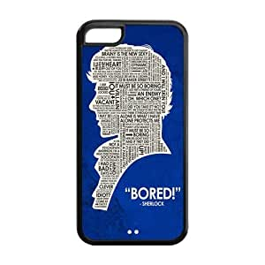 Protective iphone 5c iphone 5c Case,Durable Protector Sherlock Back Hard Cover Case For iphone 5c iphone 5c