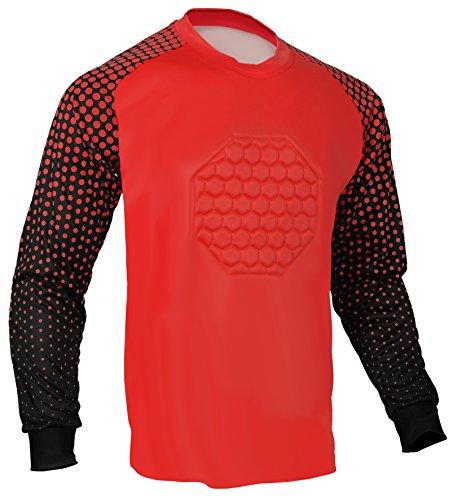 Soccer Goalie Shirt (Red, AS (Chest ()
