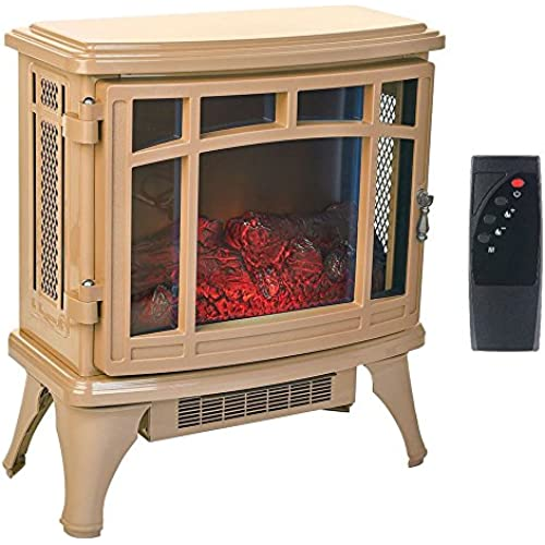 Buy Cheap Duraflame Infrared Quartz Stove Heater with Flame Effect Tan