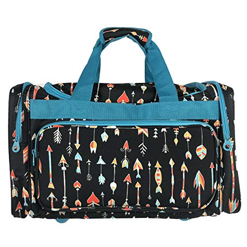 Allgala 20″ Fashion Print Gym Dance Sports Travel Duffel (Arrow)-AE9520AWBU Review