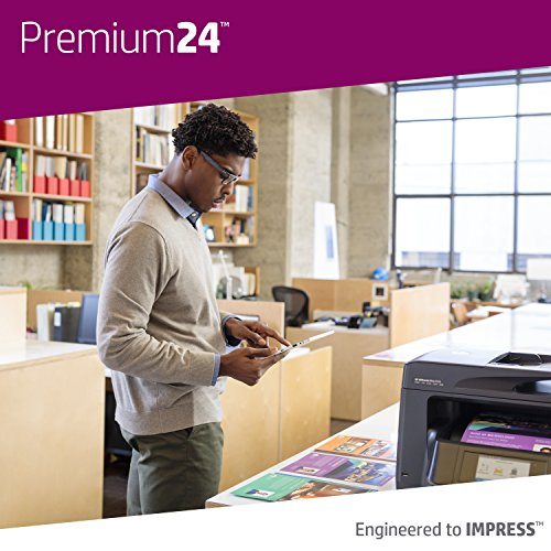 HP Printer Paper, Premium24, 8.5 x 11 Paper, Letter Size, 24lb Paper, 98 Bright, 5 Reams / 2,500 Sheets, Presentation Paper, Acid Free Paper (115300C) by HP Paper (Image #5)