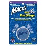Macks AquaBlock Earplugs, 1 Pair, Clear