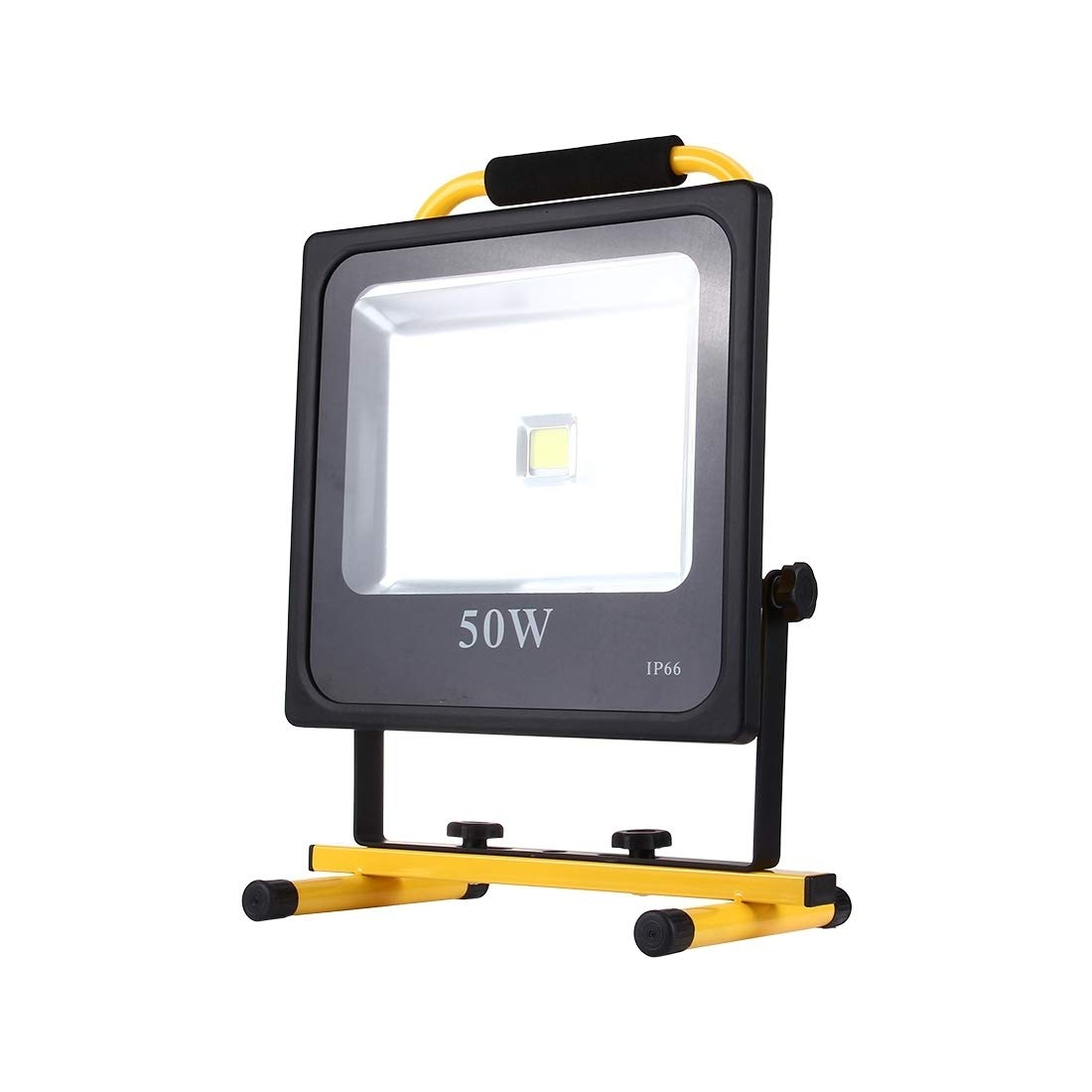 屋外ガーデンライト 50W 4500LM寿命防水LED充電式スリムハンドヘルドフラッドライトランプ、AC 100-240V 屋外ライト B07RHY5V7H