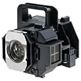 QueenYii ELPLP49 Compatible for EPSON PowerLite HC 8345 Replacement Projector Lamp with bulb inside