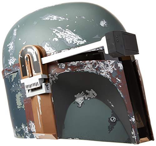 Star Wars Black Series Capacete eletrônico premium Boba Fett - Artigo de roleplay colecionável a comemorar o 40.º…