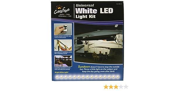 Carefree SR0113 White LED Universal White RV Awning LED Light Kit,1 Pack