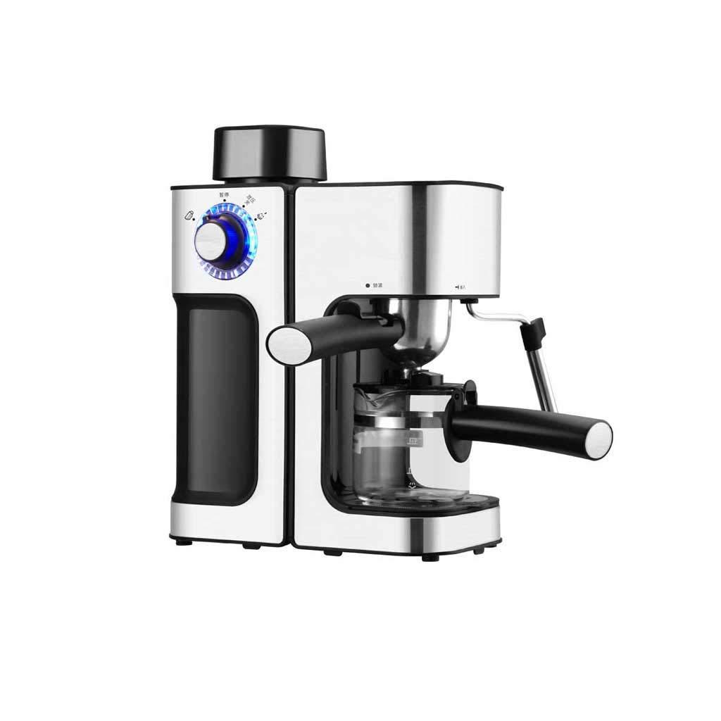 コーヒーマシンホームステンレス鋼の蒸気完全自動コーヒーメーカー   B07HCFFSLZ