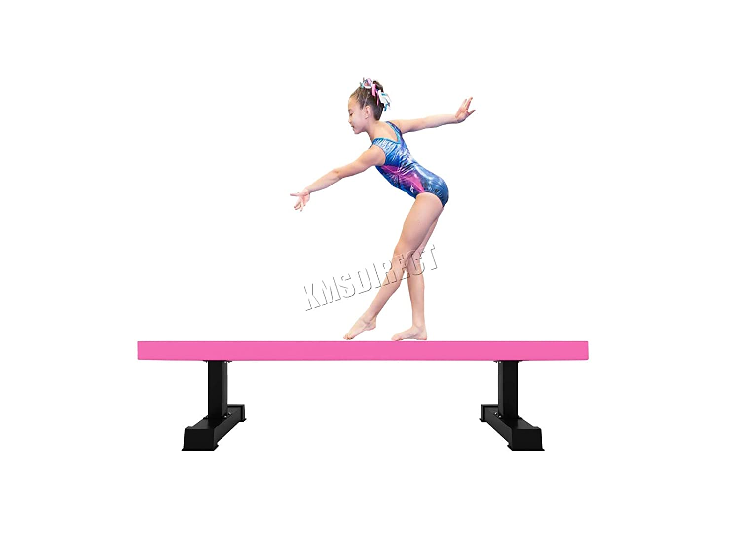 Portable 8 Ft STICK IT Suede top for Beam Balance Beam Floor level 2.4M