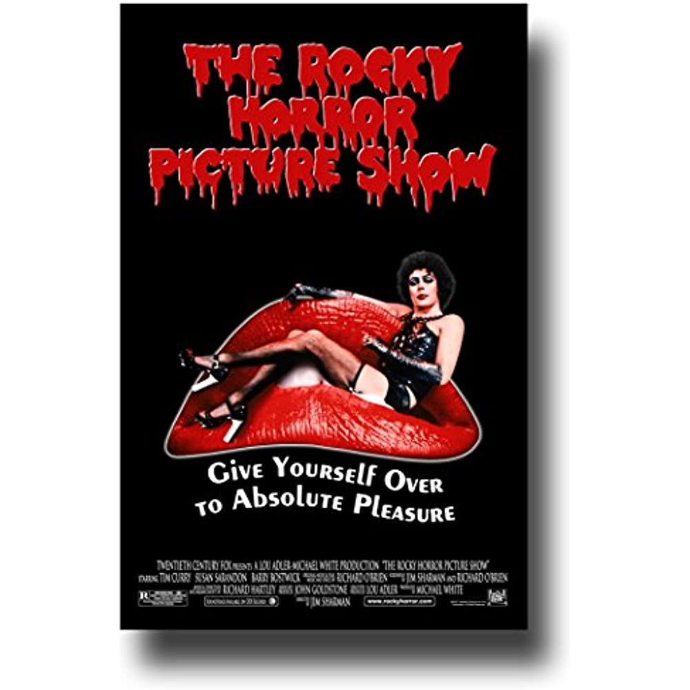 THE ROCKY HORROR PICTURE SHOW Classic Movie Art Silk Poster Print 12x18 24x36