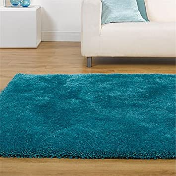 Tapis Starlet Twilight Bleu Canard 75 X 150 Cm Amazon Fr