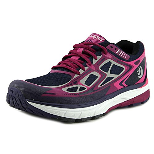 TOPO Womens Magnifly Running Shoe Navy/Purple Size 6.5