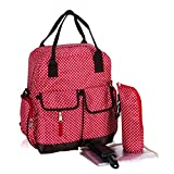 Best Baby Lovess Changing Bags - Baby Lovess Multifunction Waterproof Polka Dots Diaper Backpack Review