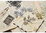 Beyong [60PCS] Adorable Watercolor Leaves and