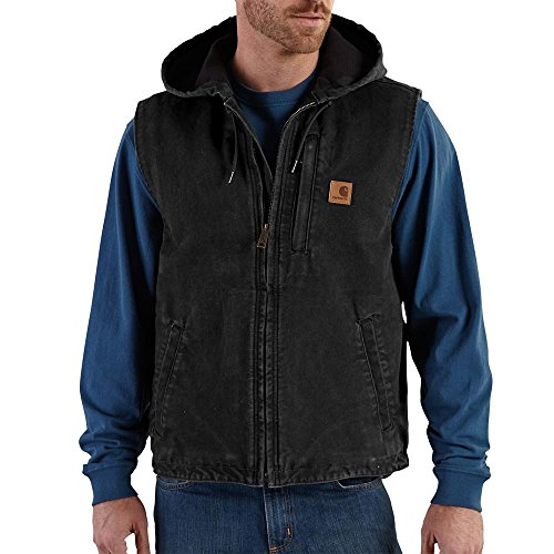 Carhartt Men's Knoxville Vest, Black, Medium by Carhartt