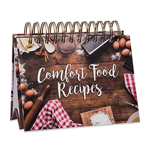 Brownlow Gifts Easel Recipe Book, Comfort Food