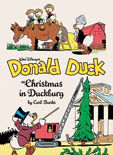 Pdf Graphic Novels Walt Disney's Donald Duck: Christmas in Duckburg (Vol. 21): Complete Carl Barks Disney Library (Carl Barks Library)