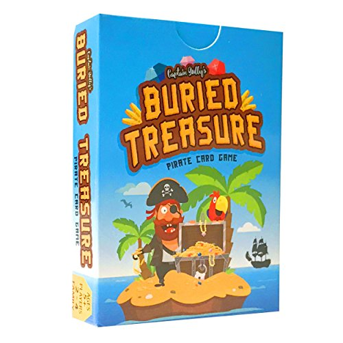 Captain Gully's Buried Treasure Pirate Pairs Matching Card Game