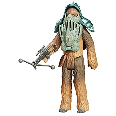 Star Wars The Force Awakens 3.75-Inch Figure Forest Mission Armor Chewbacca: Toys & Games